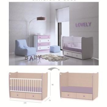 Chambre-complète-bébé- Matrix