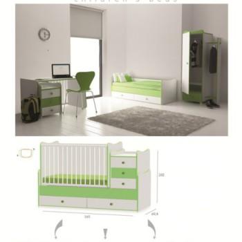Chambre-complète-bébé- Maxi Plus
