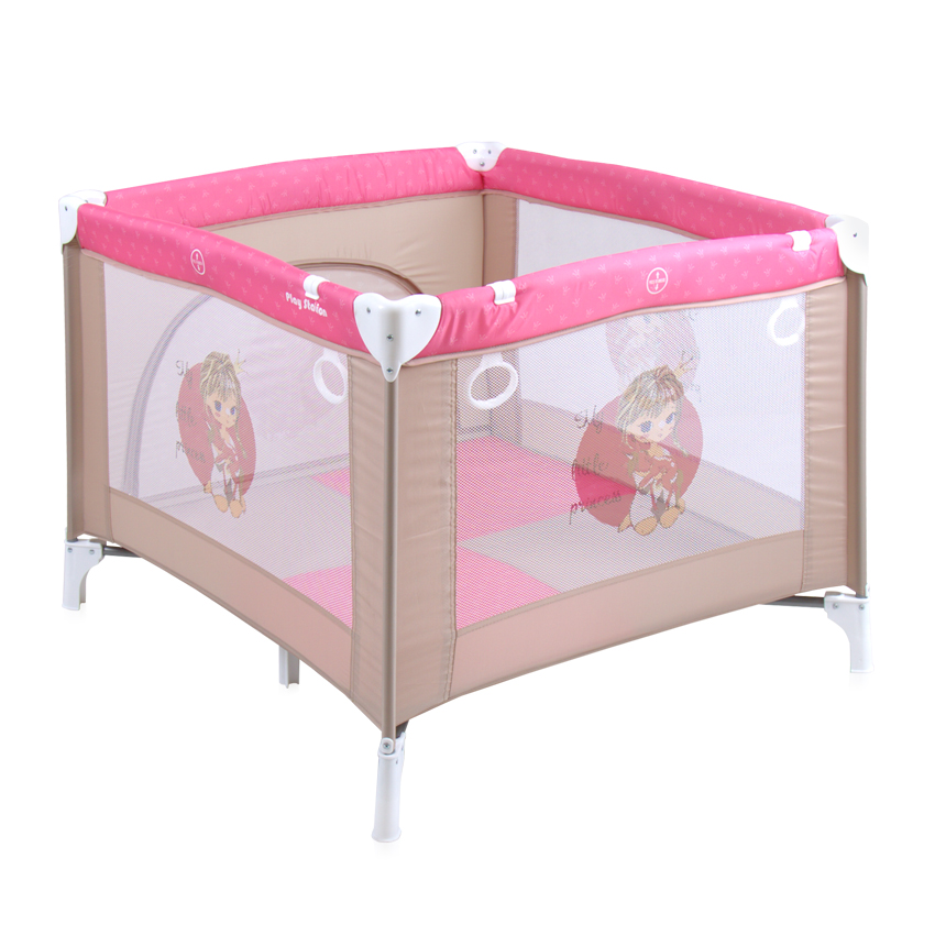 parc pliant pour b b play station lorelli rose princess. Black Bedroom Furniture Sets. Home Design Ideas