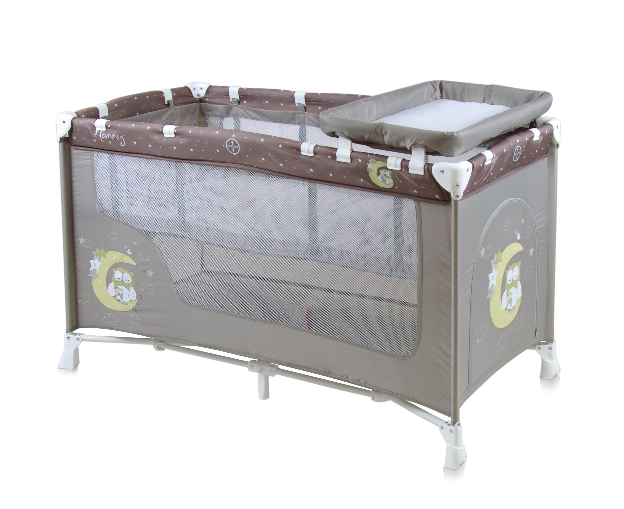 lit parapluie b b nanny 2 lorelli. Black Bedroom Furniture Sets. Home Design Ideas