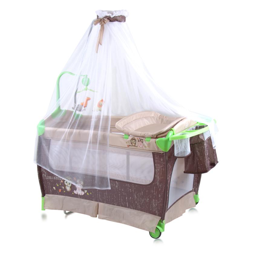 lit parapluie b b avec baldaquin lorelli. Black Bedroom Furniture Sets. Home Design Ideas
