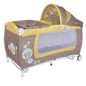 DANNY 2 Layers Rocker BEIGE&YELLOW DAISY BEARS 10080371717